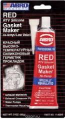 Герметик Силиконовый Abro Masters Красный 11-Ab-R 85Г