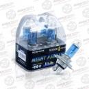 Лампа Avantech H4 60 55W 12В 5000K Night Fighter 2Шт