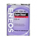Eneos Масло Моторное Super Diesel Cg-4 10W40 4Л
