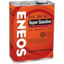 Eneos Масло Моторное Super Gasoline 100% Synt 5W30 4Л